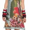 Тропическое платье от Personage