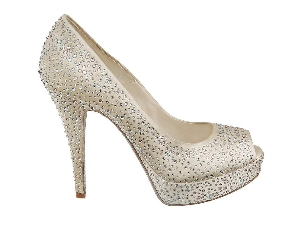 Свадебная обувь для богини от Loriblu