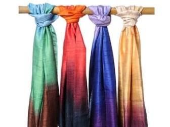 Дизайнерские платки Дмитрия Логанова