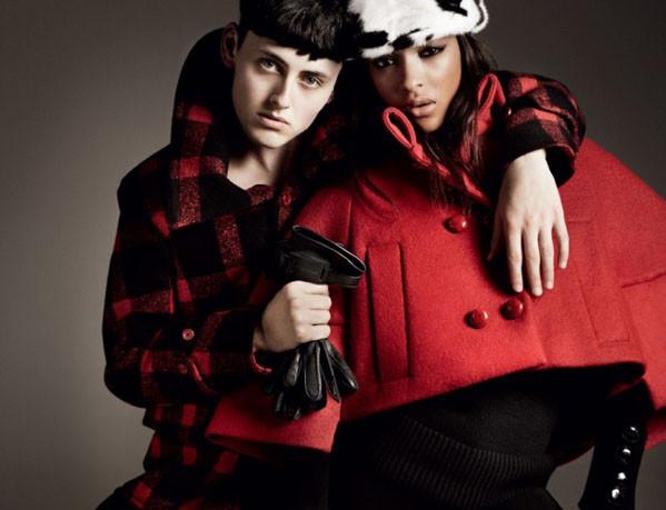 Рекламная кампания осень-зима 2011Emporio Armani
