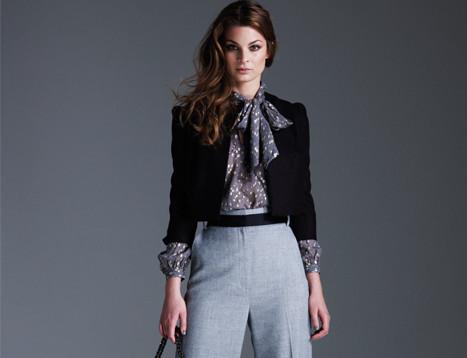 Блуза с бантом снова в моде
