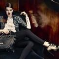 Рекламная кампания Karen Millen. Бархат, шелк и кожа