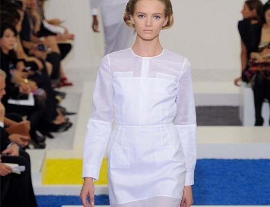 Одежда от Jil Sander. Неделя моды в Милане