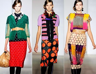 Весенняя коллекция одежды от Marni