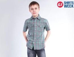 Неделя Рубашек в Глория Джинс