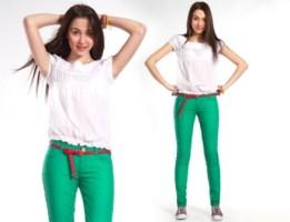 Глория Джинс – коллекция джинсов весна-лето 2012