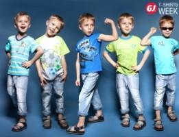 Новая коллекция футболок Color City от Gloria Jeans