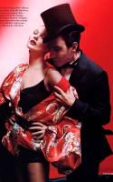 Кейт Мосс и Джон Гальяно в фотосессии для Vogue UK