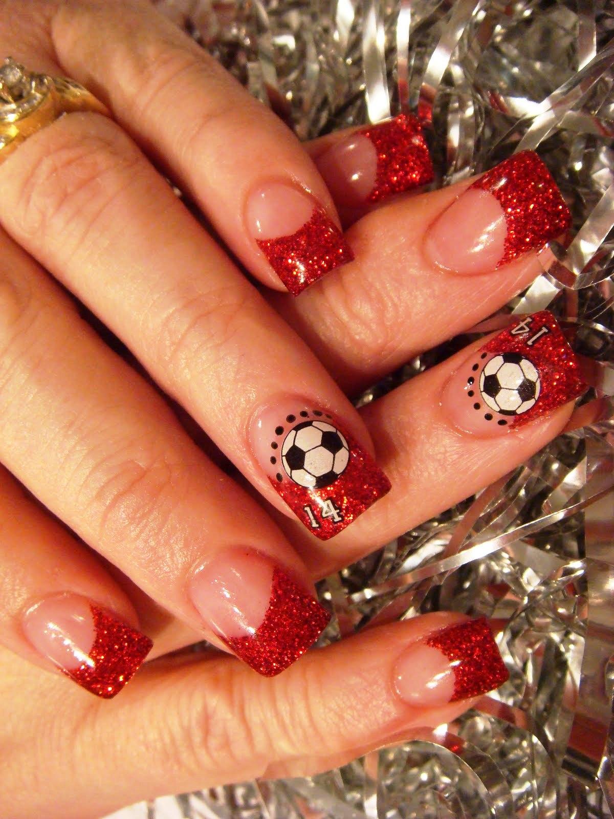 Фото новогодние ногти 2015 фото