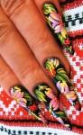 дизайн ногтей акриловыми красками фото 2013