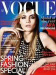 Cara Delevingne Vogue UK