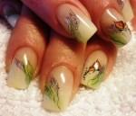 Дизайн акриловых ногтей фото