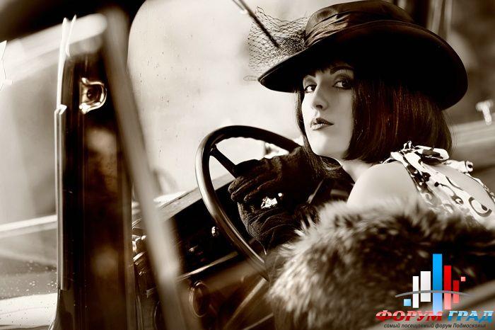 макияж в стиле девушки Чикаго 30-х годов
